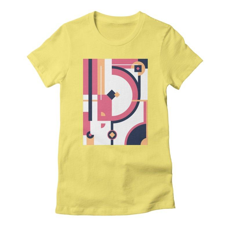 Geometric Design Series 3, Poster 1 Women's T-Shirt by Madeleine Hettich Design & Illustration