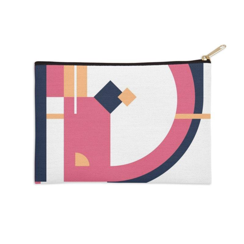 Geometric Design Series 3, Poster 1 Accessories Zip Pouch by Madeleine Hettich Design & Illustration