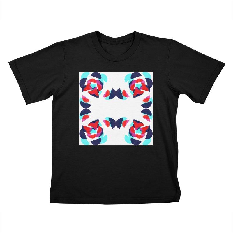 Kaleidoscope Design Series 1.5, Poster 4 Kids T-Shirt by Madeleine Hettich Design & Illustration
