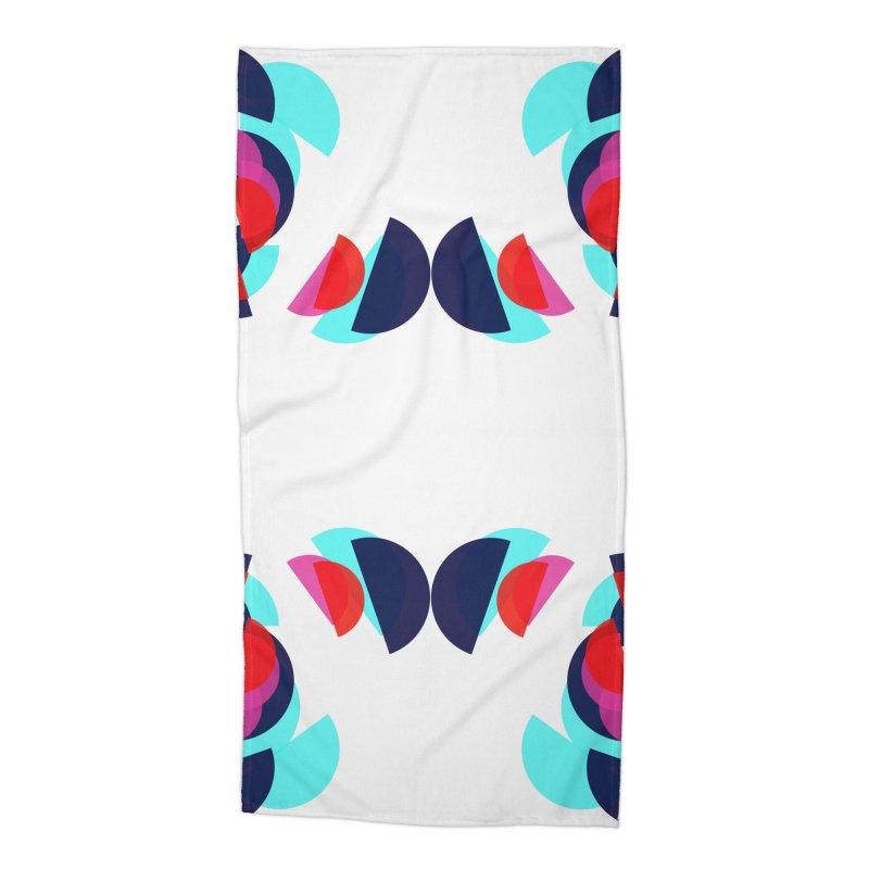Kaleidoscope Design Series 1.5, Poster 4 Accessories Beach Towel by Madeleine Hettich Design & Illustration