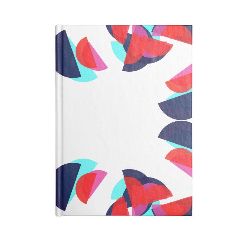 Kaleidoscope Design Series 1.5, Poster 4 Accessories Blank Journal Notebook by Madeleine Hettich Design & Illustration