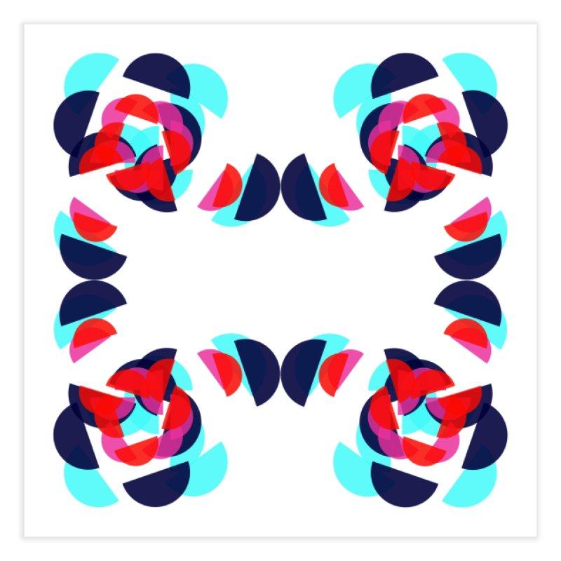 Kaleidoscope Design Series 1.5, Poster 4 Home Fine Art Print by Madeleine Hettich Design & Illustration