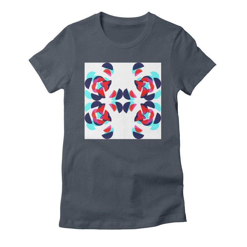 Kaleidoscope Design Series 1.5, Poster 3 Women's T-Shirt by Madeleine Hettich Design & Illustration
