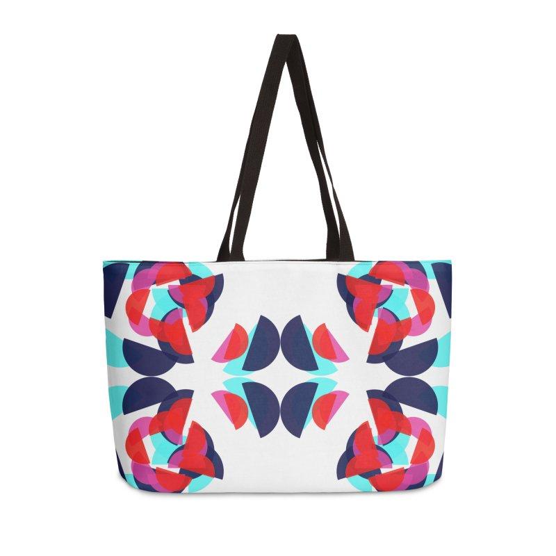 Kaleidoscope Design Series 1.5, Poster 3 Accessories Bag by Madeleine Hettich Design & Illustration