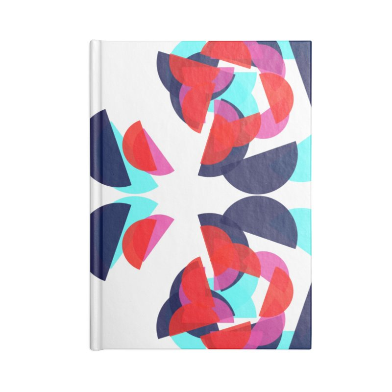 Kaleidoscope Design Series 1.5, Poster 3 Accessories Blank Journal Notebook by Madeleine Hettich Design & Illustration