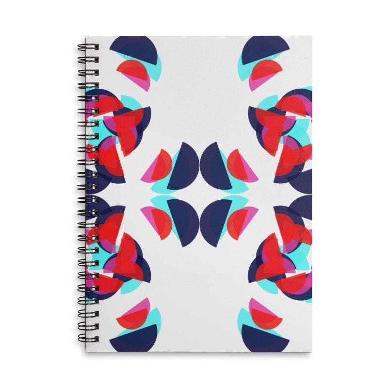 Kaleidoscope Design Series 1.5, Poster 3 Accessories Notebook by Madeleine Hettich Design & Illustration