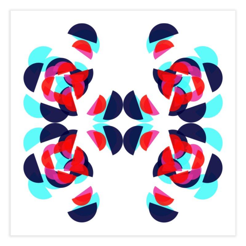 Kaleidoscope Design Series 1.5, Poster 3 Home Fine Art Print by Madeleine Hettich Design & Illustration
