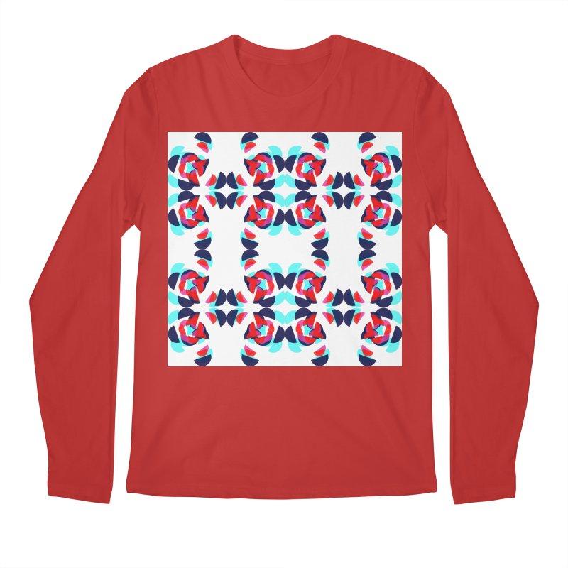 Kaleidoscope Design Series 1.5, Poster 2 Men's Longsleeve T-Shirt by Madeleine Hettich Design & Illustration