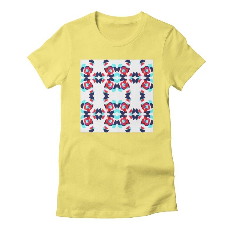 Kaleidoscope Design Series 1.5, Poster 2 Women's T-Shirt by Madeleine Hettich Design & Illustration