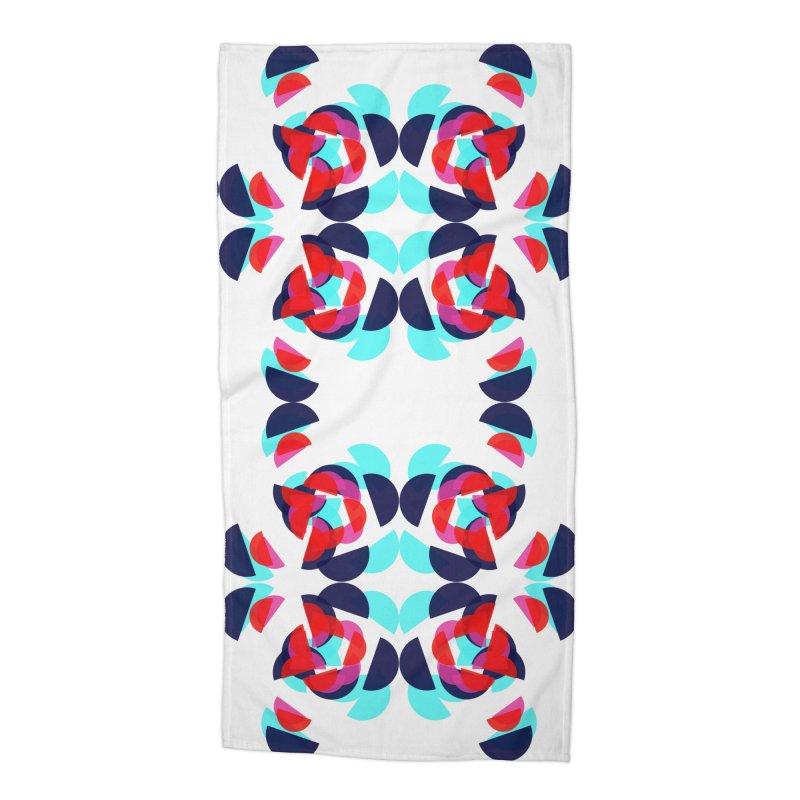 Kaleidoscope Design Series 1.5, Poster 2 Accessories Beach Towel by Madeleine Hettich Design & Illustration