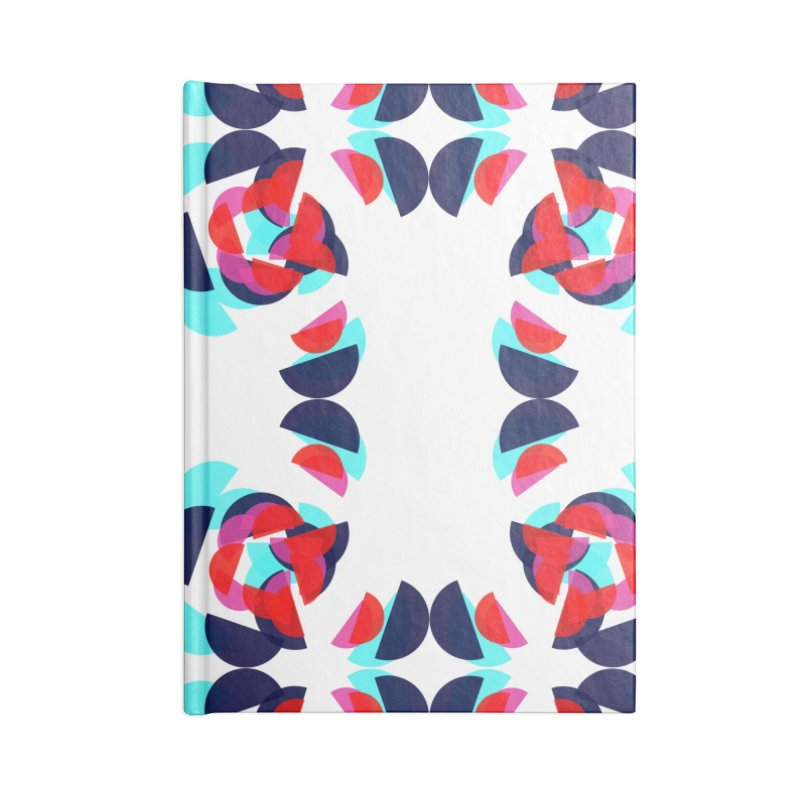 Kaleidoscope Design Series 1.5, Poster 2 Accessories Blank Journal Notebook by Madeleine Hettich Design & Illustration