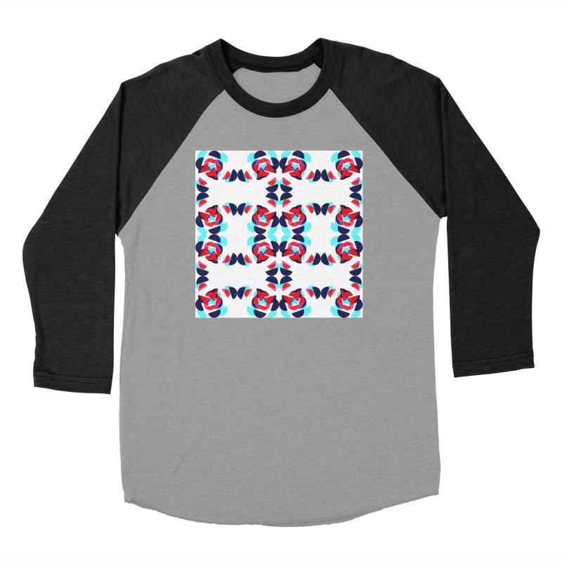 Kaleidoscope Design Series 1.5, Poster 1 Women's Longsleeve T-Shirt by Madeleine Hettich Design & Illustration