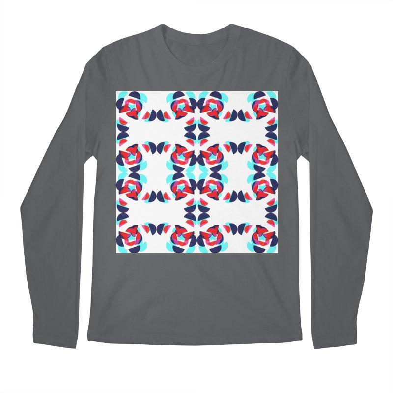 Kaleidoscope Design Series 1.5, Poster 1 Men's Longsleeve T-Shirt by Madeleine Hettich Design & Illustration