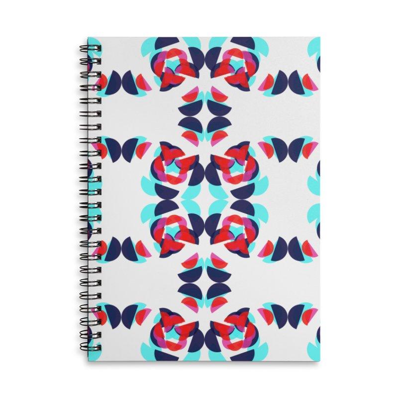 Kaleidoscope Design Series 1.5, Poster 1 Accessories Notebook by Madeleine Hettich Design & Illustration