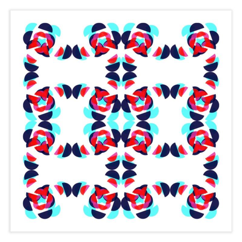 Kaleidoscope Design Series 1.5, Poster 1 Home Fine Art Print by Madeleine Hettich Design & Illustration