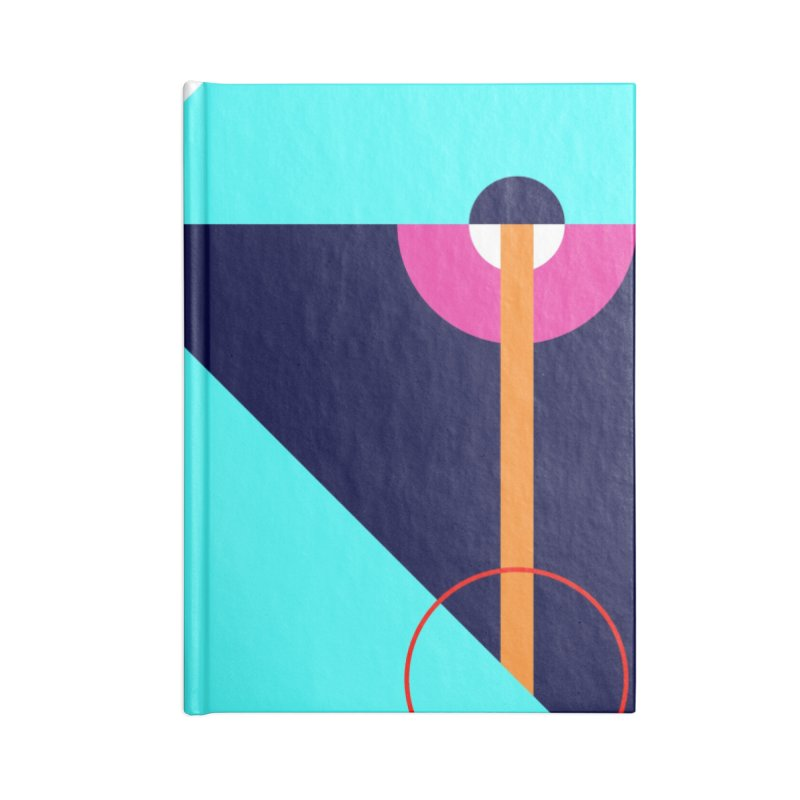 Geometric Design Series 4, Poster 11 (Version 2) Accessories Blank Journal Notebook by Madeleine Hettich Design & Illustration