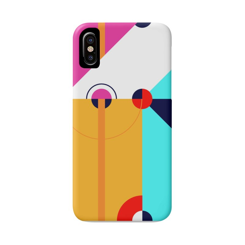 Geometric Design Series 4, Poster 11 (Version 2) Accessories Phone Case by Madeleine Hettich Design & Illustration