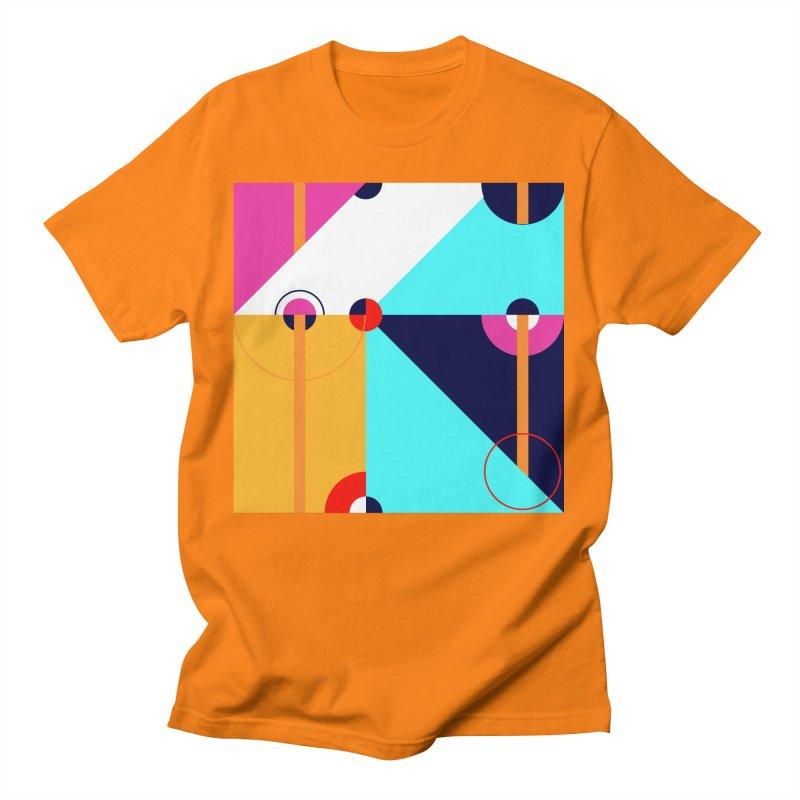 Geometric Design Series 4, Poster 11 (Version 2) Men's T-Shirt by Madeleine Hettich Design & Illustration