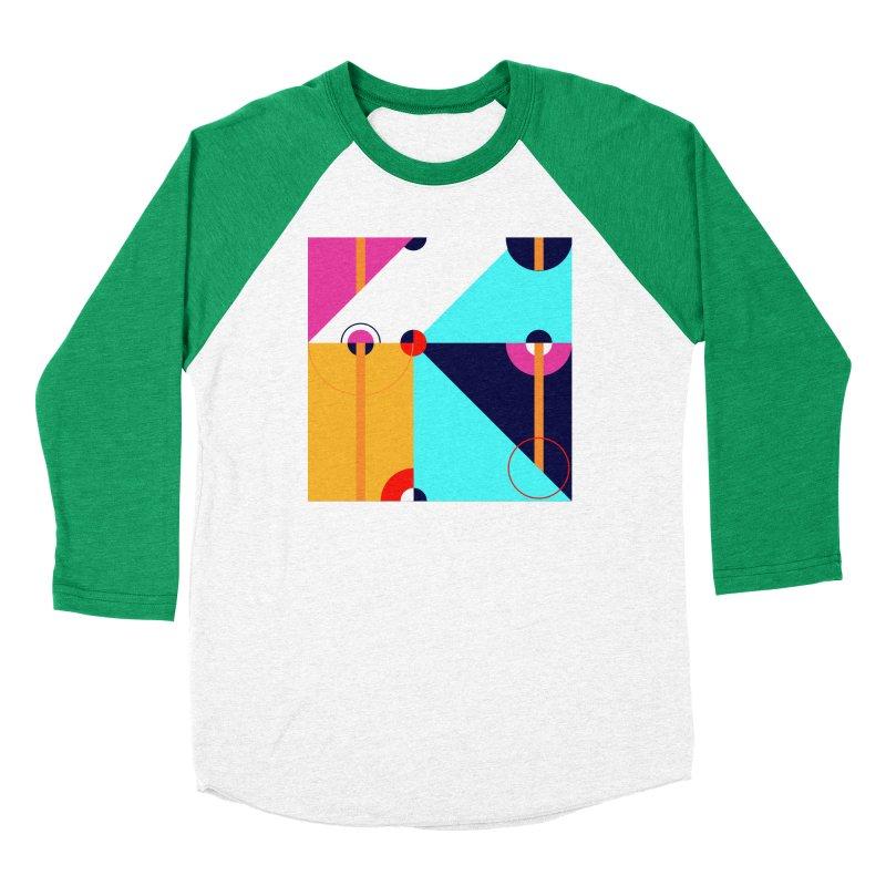 Geometric Design Series 4, Poster 11 (Version 2) Women's Longsleeve T-Shirt by Madeleine Hettich Design & Illustration