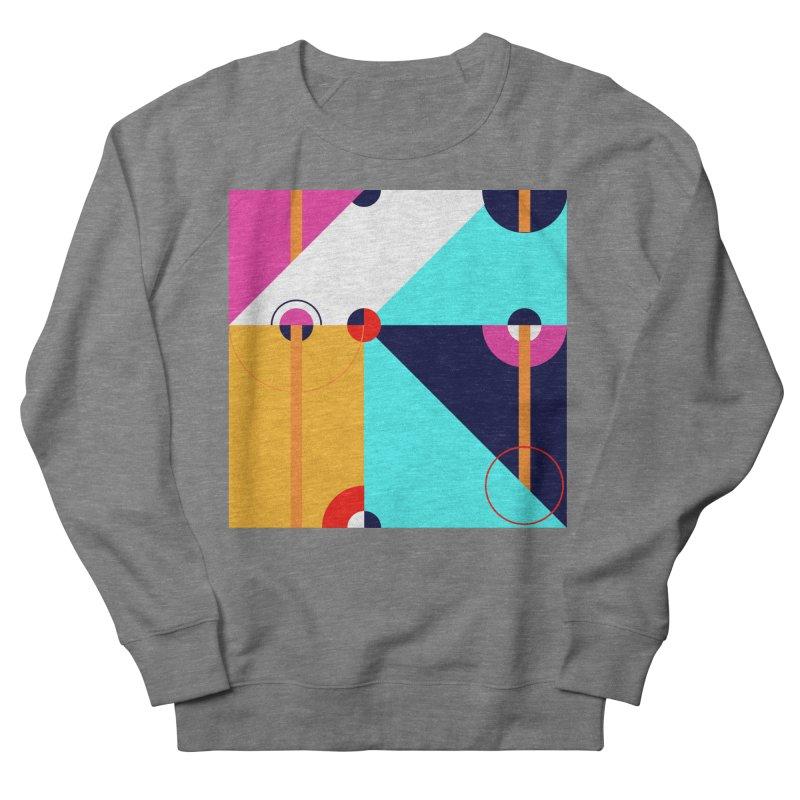 Geometric Design Series 4, Poster 11 (Version 2) Men's Sweatshirt by Madeleine Hettich Design & Illustration