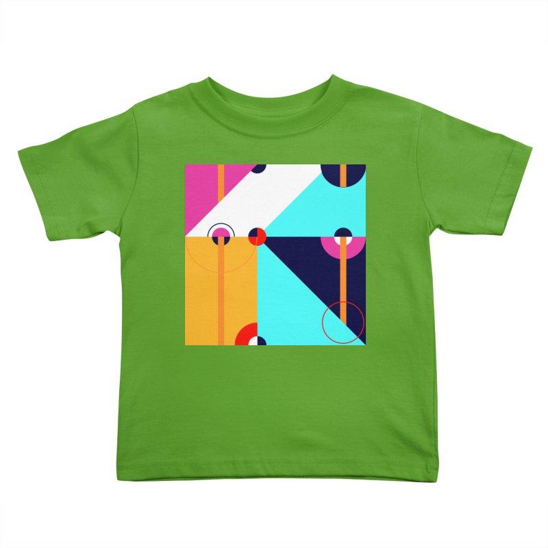 Geometric Design Series 4, Poster 11 (Version 2) Kids Toddler T-Shirt by Madeleine Hettich Design & Illustration