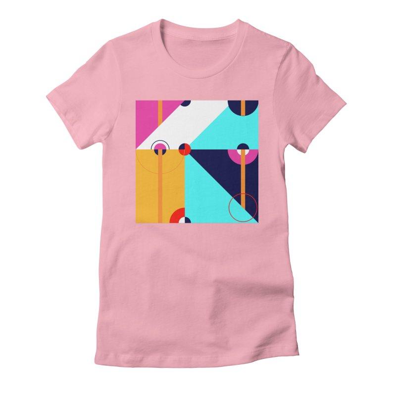 Geometric Design Series 4, Poster 11 (Version 2) Women's T-Shirt by Madeleine Hettich Design & Illustration