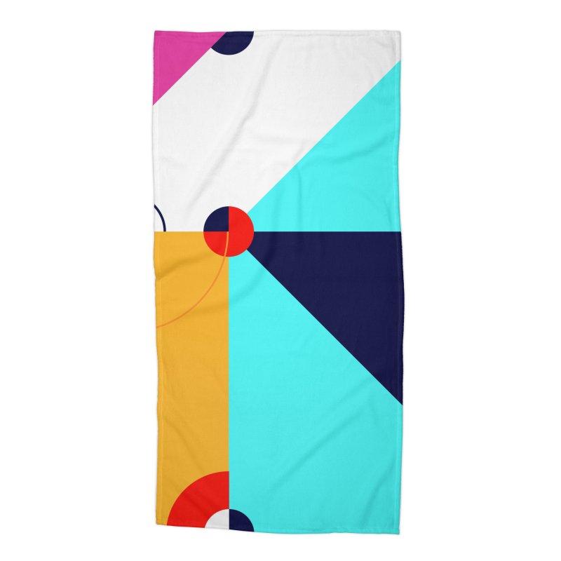 Geometric Design Series 4, Poster 11 (Version 2) Accessories Beach Towel by Madeleine Hettich Design & Illustration