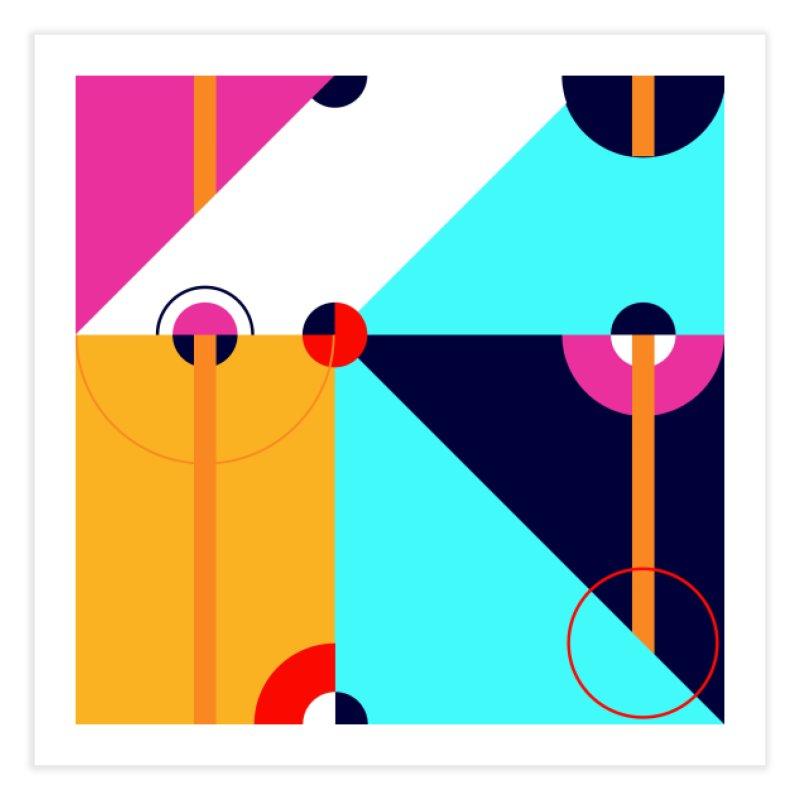 Geometric Design Series 4, Poster 11 (Version 2) Home Fine Art Print by Madeleine Hettich Design & Illustration
