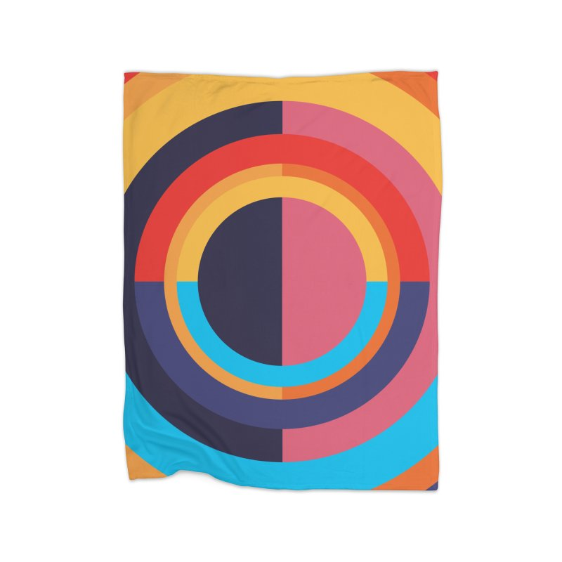Geometric Design Series 4, Poster 10 Home Blanket by Madeleine Hettich Design & Illustration