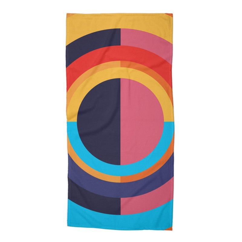 Geometric Design Series 4, Poster 10 Accessories Beach Towel by Madeleine Hettich Design & Illustration