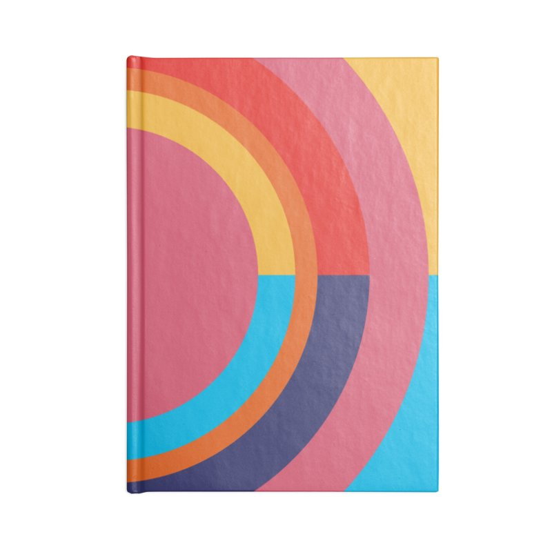 Geometric Design Series 4, Poster 10 Accessories Blank Journal Notebook by Madeleine Hettich Design & Illustration
