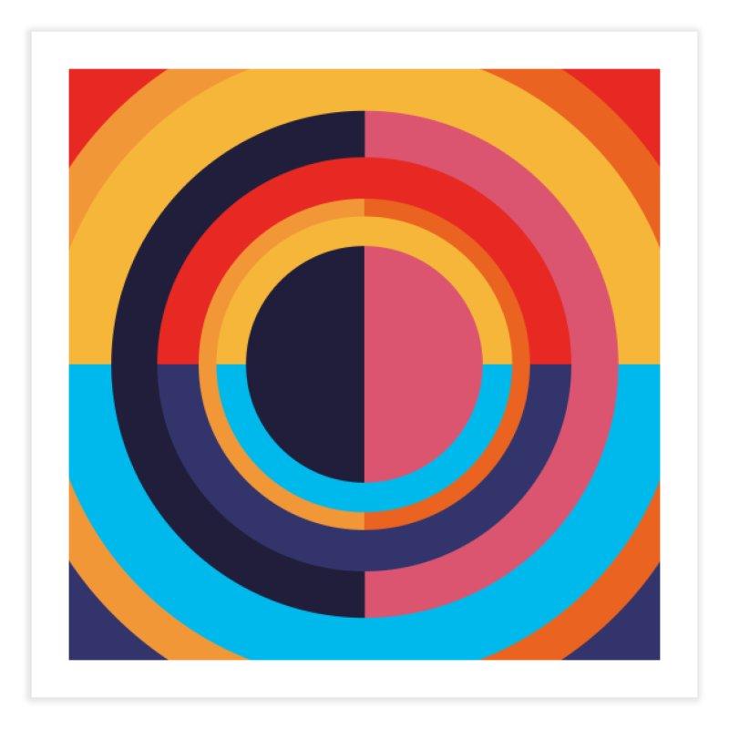 Geometric Design Series 4, Poster 10 Home Fine Art Print by Madeleine Hettich Design & Illustration