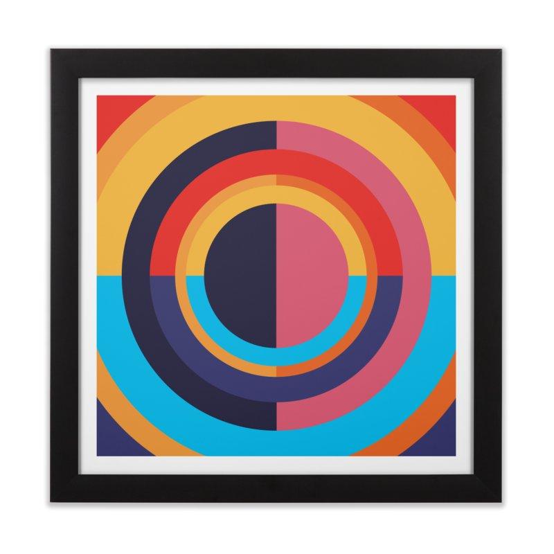 Geometric Design Series 4, Poster 10 Home Framed Fine Art Print by Madeleine Hettich Design & Illustration