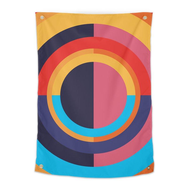 Geometric Design Series 4, Poster 10 Home Tapestry by Madeleine Hettich Design & Illustration