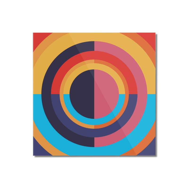 Geometric Design Series 4, Poster 10 Home Mounted Acrylic Print by Madeleine Hettich Design & Illustration