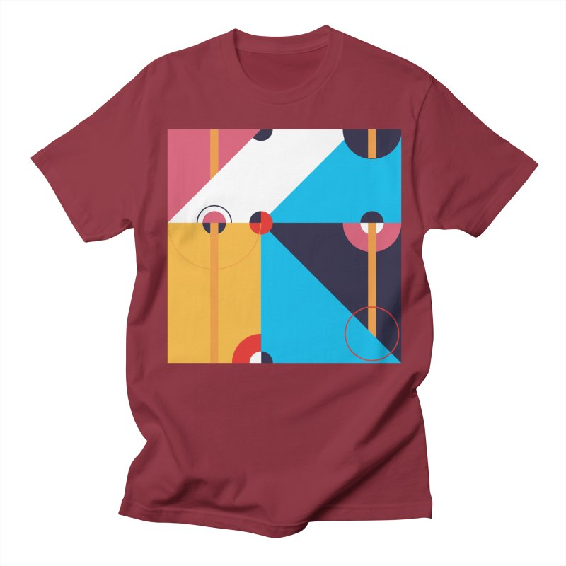Geometric Design Series 4, Poster 11 Men's T-Shirt by Madeleine Hettich Design & Illustration