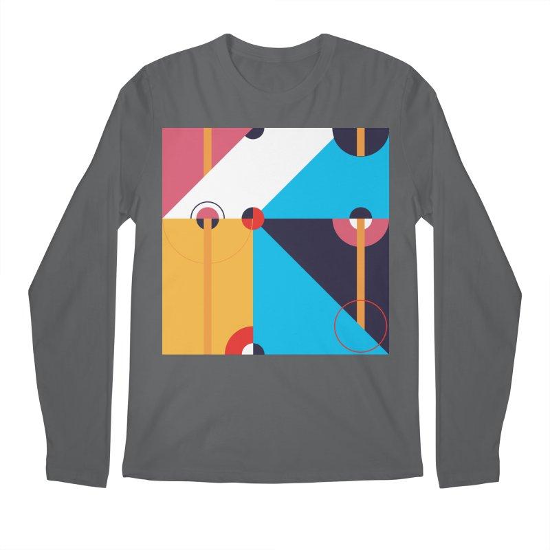 Geometric Design Series 4, Poster 11 Men's Longsleeve T-Shirt by Madeleine Hettich Design & Illustration