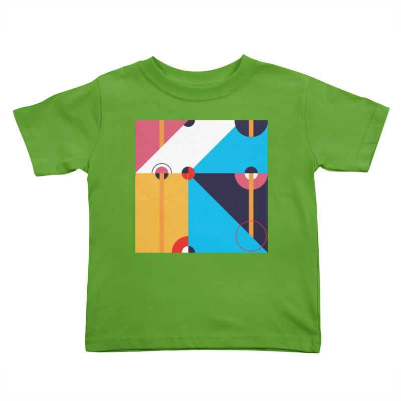 Geometric Design Series 4, Poster 11 Kids Toddler T-Shirt by Madeleine Hettich Design & Illustration