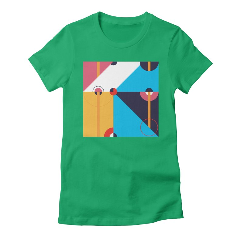 Geometric Design Series 4, Poster 11 Women's T-Shirt by Madeleine Hettich Design & Illustration
