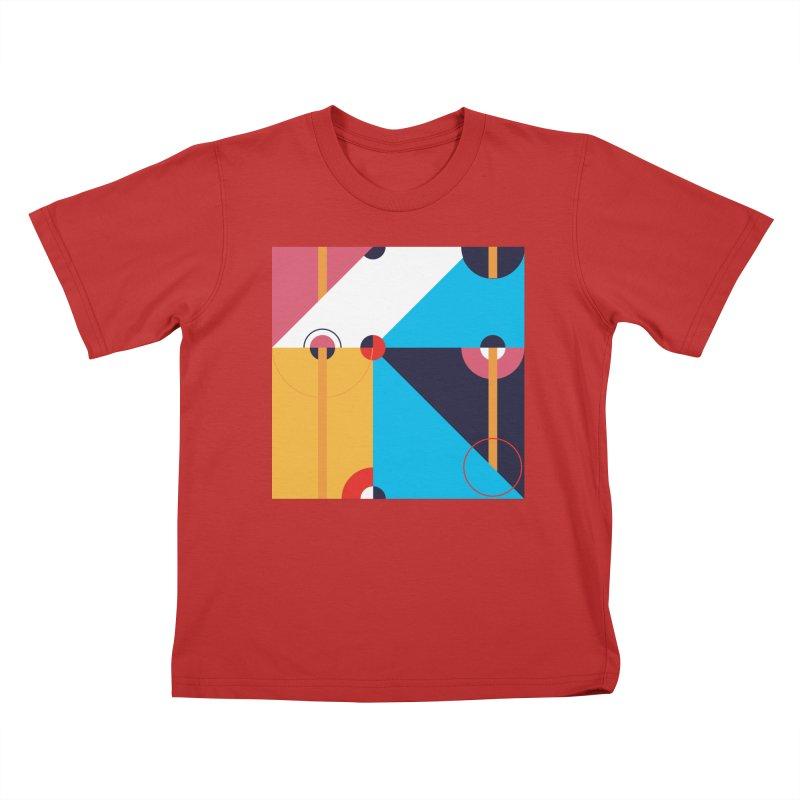 Geometric Design Series 4, Poster 11 Kids T-Shirt by Madeleine Hettich Design & Illustration