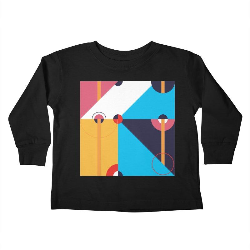 Geometric Design Series 4, Poster 11 Kids Toddler Longsleeve T-Shirt by Madeleine Hettich Design & Illustration
