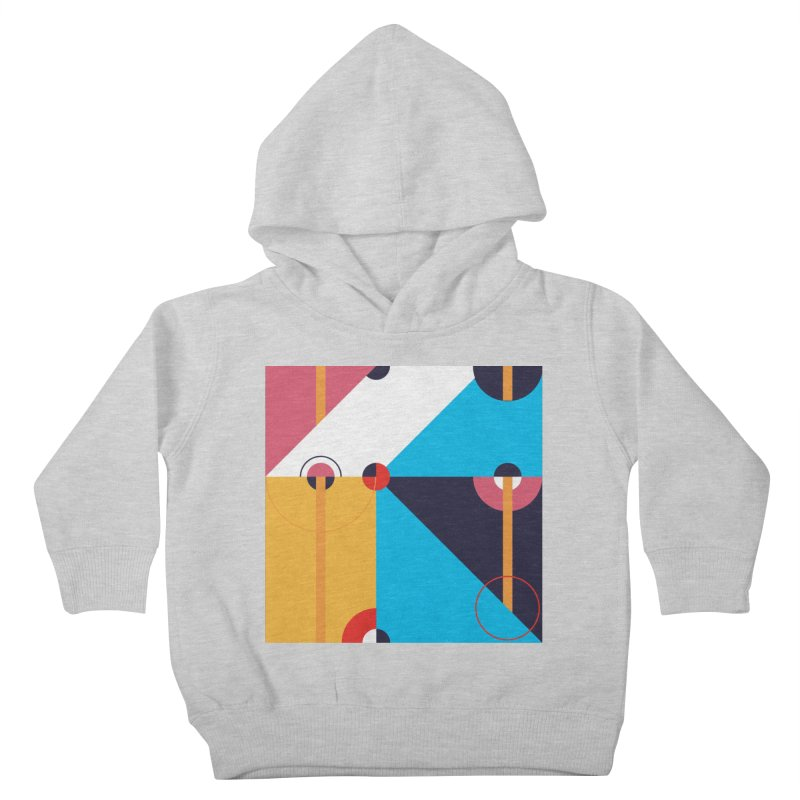 Geometric Design Series 4, Poster 11 Kids Toddler Pullover Hoody by Madeleine Hettich Design & Illustration