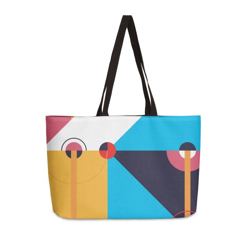 Geometric Design Series 4, Poster 11 Accessories Bag by Madeleine Hettich Design & Illustration