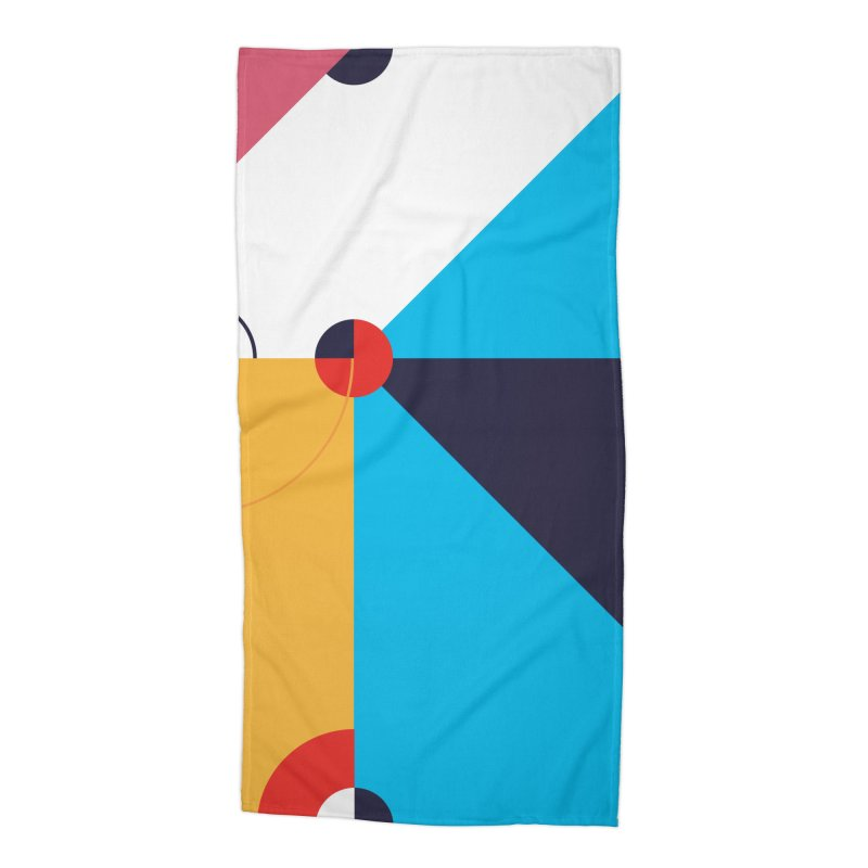 Geometric Design Series 4, Poster 11 Accessories Beach Towel by Madeleine Hettich Design & Illustration