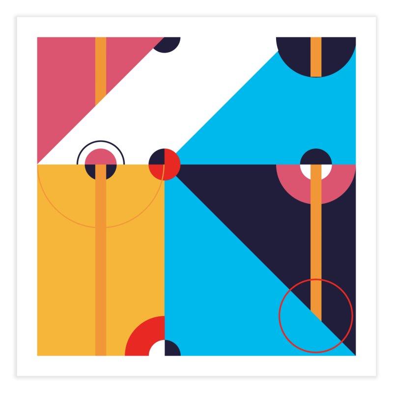 Geometric Design Series 4, Poster 11 Home Fine Art Print by Madeleine Hettich Design & Illustration