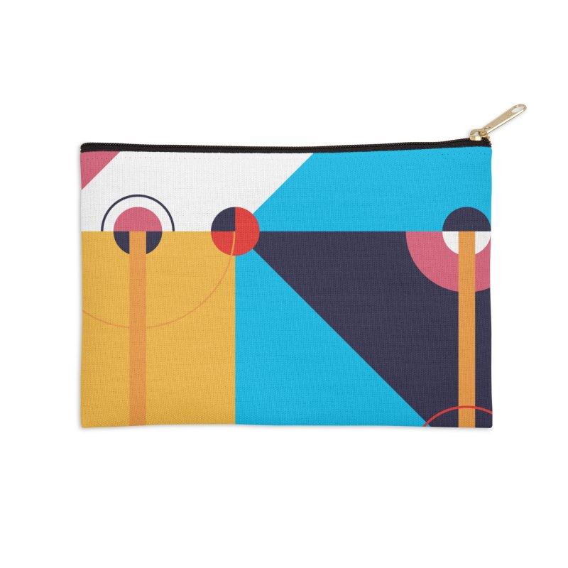 Geometric Design Series 4, Poster 11 Accessories Zip Pouch by Madeleine Hettich Design & Illustration