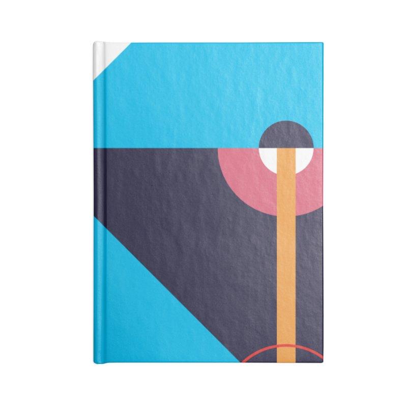 Geometric Design Series 4, Poster 11 Accessories Notebook by Madeleine Hettich Design & Illustration
