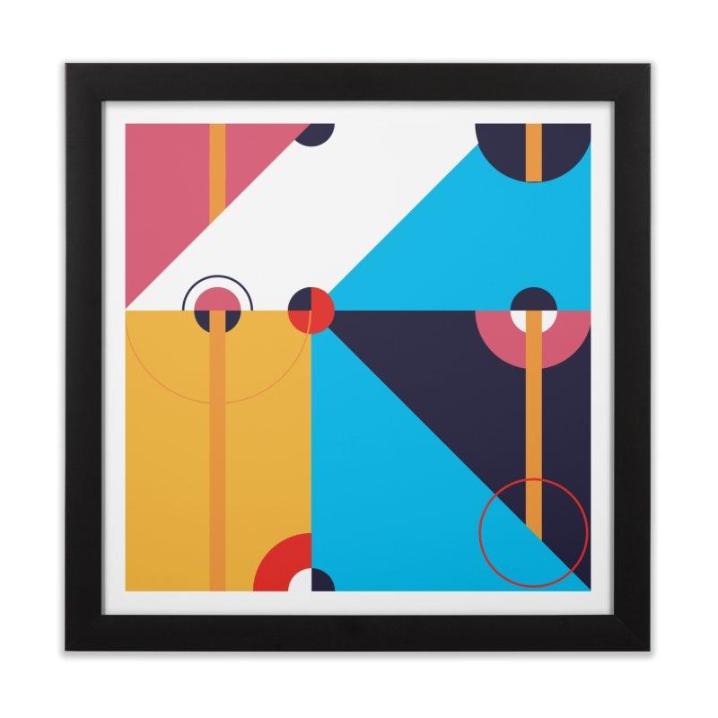 Geometric Design Series 4, Poster 11 Home Framed Fine Art Print by Madeleine Hettich Design & Illustration