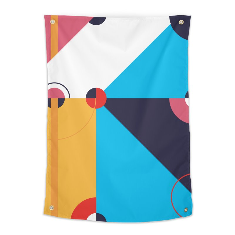 Geometric Design Series 4, Poster 11 Home Tapestry by Madeleine Hettich Design & Illustration