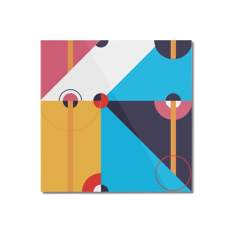 Geometric Design Series 4, Poster 11 Home Mounted Acrylic Print by Madeleine Hettich Design & Illustration